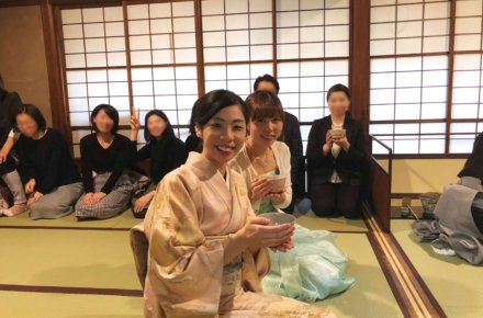 お客様満足度100%!お茶とお箏を楽しむ会〜withハープ〜