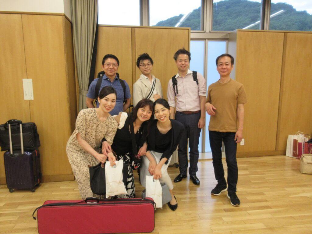 邦楽集団秋桜演奏会にて演奏させていただきました