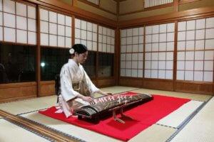 お花茶屋森谷邸グランドオープンイベント「お箏演奏とお茶事」