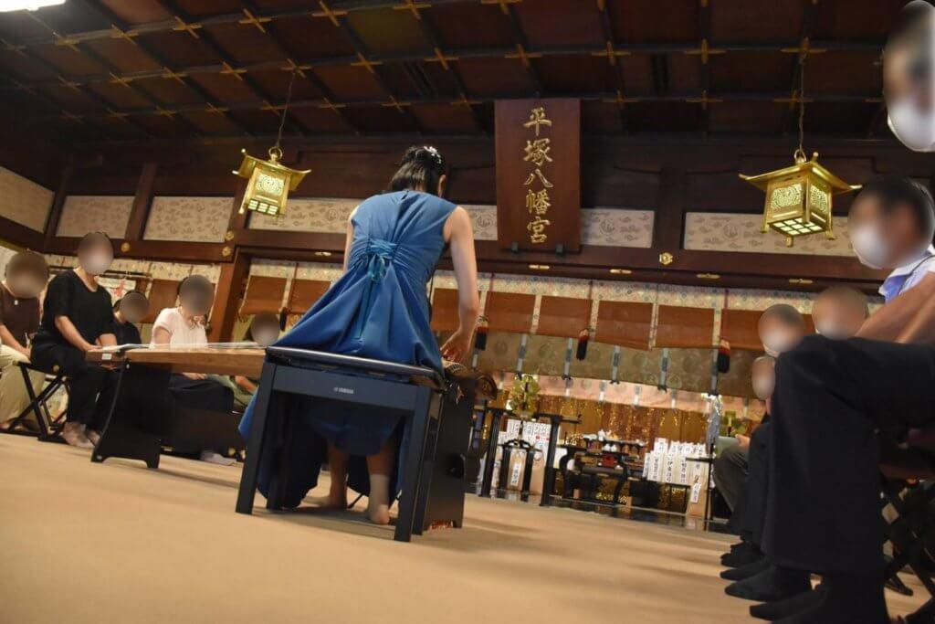 平塚八幡宮奉納演奏